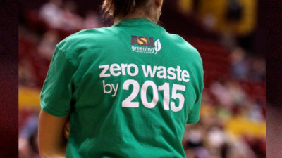 Trending: ASU Sun Devils, ESPN Launch Full-Court Press on Waste at Sporting Events