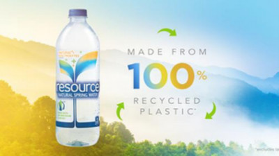 Nestlé Waters' resource® Now Comes in 100% Recycled Bottles
