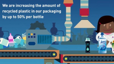 P&G Fabric Care Overhauling Packaging to Make 230M Bottles a Year from Recycled Plastic