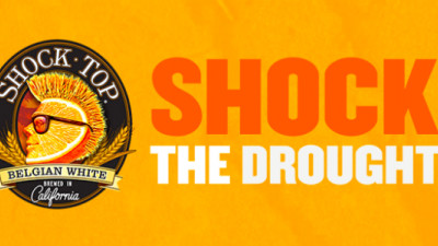 Shock Top, Indiegogo Partner to Shock the California Drought