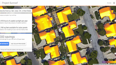 Google's 'Project Sunroof' Calculates the Cost of Solar