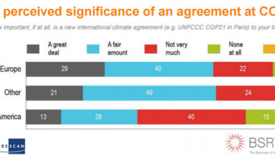Latest BSR/GlobeScan Survey Reveals Many Execs Not Sold on Significance of COP21, SDGs, More