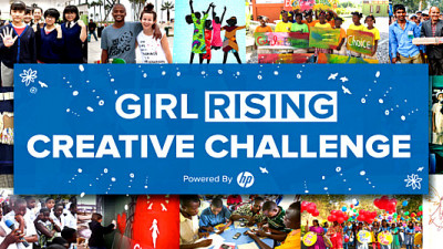 HP-Powered Girl Rising Creative Challenge Seeks Stories of Girl Power, Action for Gender Parity