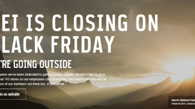 Attention, Shoppers: REI Is Paying Its Employees to Take Black Friday, Thanksgiving Off