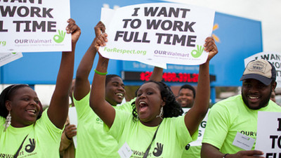 Walmart Workers Launch #FastFor15 Movement for $15/Hr, Full-Time Pay