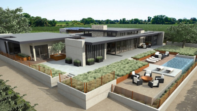 Most Advanced High-End Prefab Smart Home to Be Built in California Wine Country