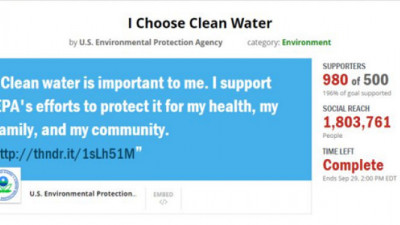 EPA Accused of 'Covert Propaganda' for Social Media Campaign Behind Clean Water Rule