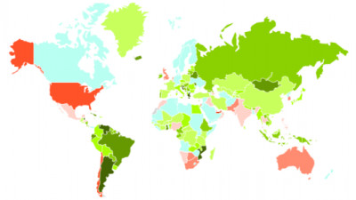 Countries Ranked on Sustainable Competitiveness; US and UK Score Below China, Russia