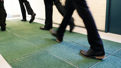 Energy-Generating Floor Tiles Make US Debut at NYC Prep School
