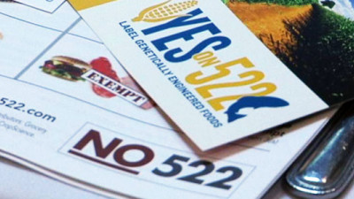 Food Companies Seek Federal GMO Labeling Standard, Challenge Washington's Campaign Finance Laws
