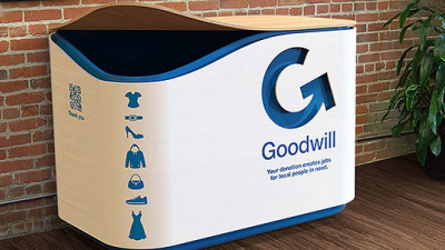 Goodwill's New goBINs Allow People to Donate Goods Without Leaving Home