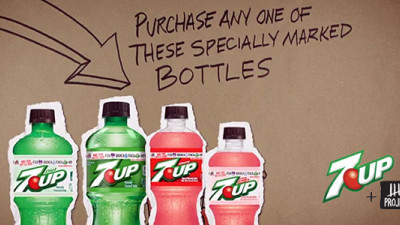7UP-Project 7 Partnership Encouraging Soda Drinkers to 'Make Your Bottle Count'
