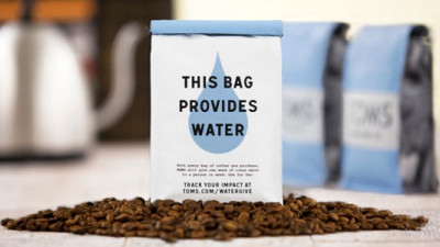 TOMS' New Roasting Company Providing 'Coffee for You, Water for All'