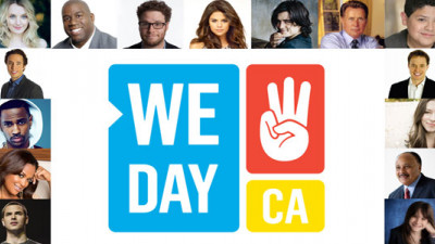 Microsoft, Allstate, Unilever Sponsor California's First 'We Day' Youth Service Event