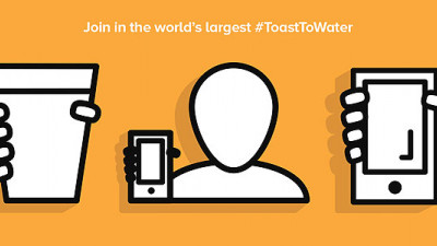 #ToastToWater: Raising a Glass to Raise Awareness of Global Water Challenges