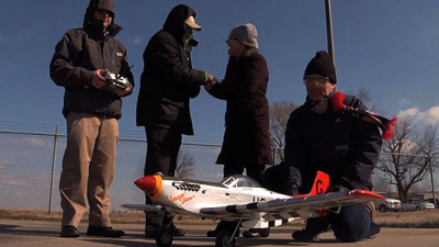 Naval Researchers Fly Model Plane with Fuel Derived from Seawater