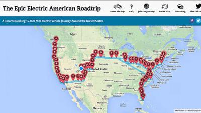 Tesla Model S Completes Longest EV Journey Ever