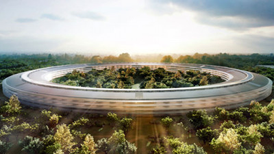 Apple's Campus 2 'Mother Ship' to Run on 100% Renewables
