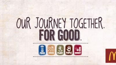 McDonald's Reveals CSR/Sustainability Framework and Host of 2020 Goals