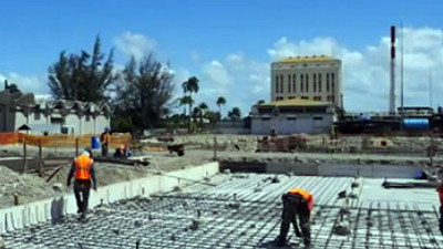 Bacardi Reusing 2,300 Tons of Concrete Rubble to Build New Warehouses