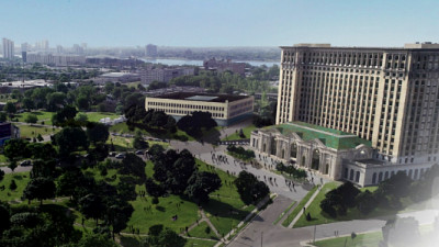 Ford Reveals Vision for Michigan Central Station, Reimagining Future of Mobility in Detroit