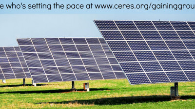 Ceres Conference and Report Ask: Is Corporate Sustainability Gaining Ground or Losing Pace?