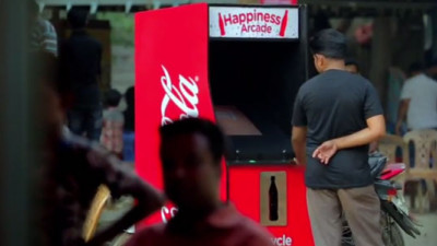 Coca-Cola Gamifies Recycling in Bangladesh with 'Happiness Arcade'
