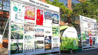 Greenpeace, Top Users Tell Pinterest: 'Make Our Pins Green'