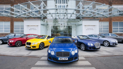 Bentley Becomes First Automaker to Achieve Triple Carbon Trust Standard