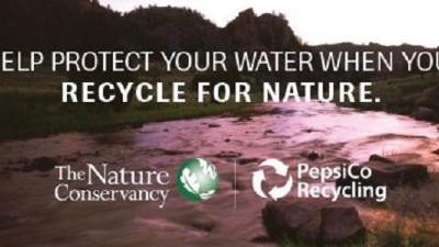 PepsiCo and The Nature Conservancy Team Up to Increase Recycling, Protect Drinking Water