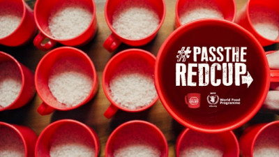 Yum! Launches 'Pass the Red Cup' Challenge with Christina Aguilera to Aid World Hunger Relief