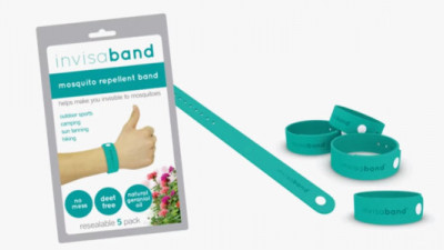 invisaband Provides Long-Lasting, Plant-Based Alternative to Toxic, Sticky Mosquito Repellents