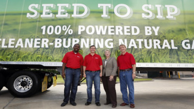 Anheuser-Busch's New CNG-Powered Truck Fleet Will Save 2,000 Tons of CO2 Per Year