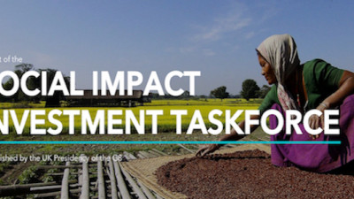 G8 Taskforce Issues 8 Recommemdations to Catalyze Global Impact Investment