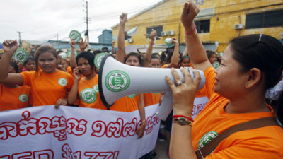 Protest Prompts 8 Major Fashion Retailers to Support Wage Increase for Cambodian Workers