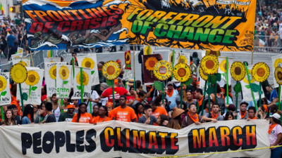 Almost 400,000 Fill NYC Streets to Drive Home the Need for Climate Action