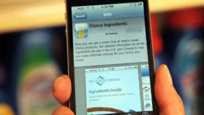 Clorox Increasing Product Transparency with Mobile App, Ingredient Calculator