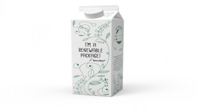 Tetra Pak Launches First Package Made From 100% Plant-Based Packaging Materials