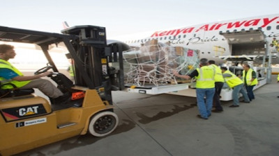 Boeing, Kenya Airways Partner with Non-Profits to Deliver Medical Supplies in Kenya
