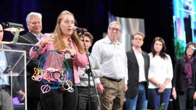 Global Forum Attendees Design 'Flourishing' Solutions to Real-World Challenges