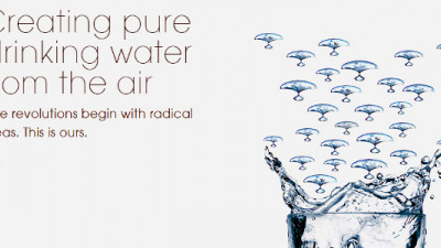 Could Harvesting Water From the Air Be a Sustainable Option for Businesses?