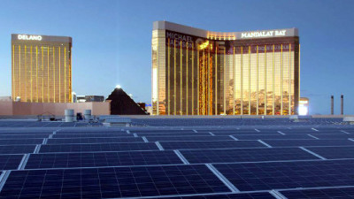 MGM Resorts' New Solar Array Pushing Las Vegas in a More Sustainable Direction