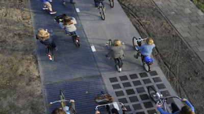 World's First Solar Road Opens in The Netherlands