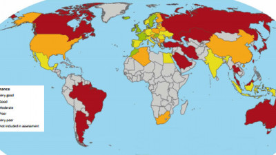 Climate Change Performance Index: U.S. Ranks 44th, Canada and Australia Worst Industrialized Offenders