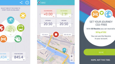 New Mobile App Encourages Fitness, Rewards You for Reducing Your CO2 Emissions