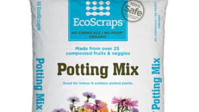 EcoScraps Potting Soil, Made from Grocers' Produce Waste, Now Available Nationwide Through Target
