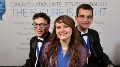 Intel Awards High School Senior Grand Prize for Work with Algae Fuel Viability