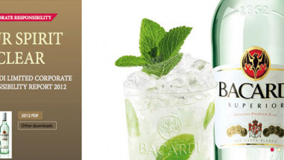 Bacardi Cuts Water Use in Half, Energy Consumption and GHGs by a Third