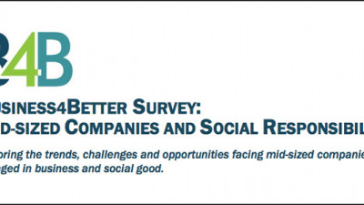 Report: Most Mid-Sized Companies Wish To Implement or Improve CSR Programs