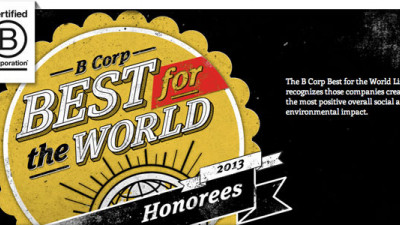 B Lab's 'Best for the World' List Highlights Companies Making Positive Impacts